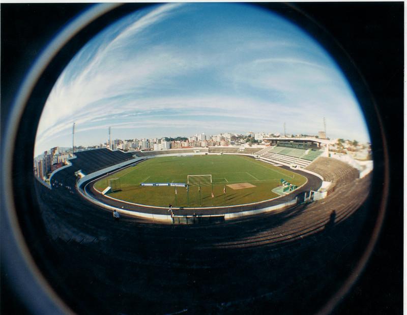 Estádio Orlando Scarpelli, em Florianópolis: um patrimônio inestimável – Foto: Memorial FFC/acervo/divulgação