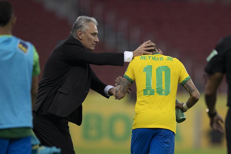 Tite não conseguiu a Copa América – Foto: Lucas Figueiredo/CBF/ND