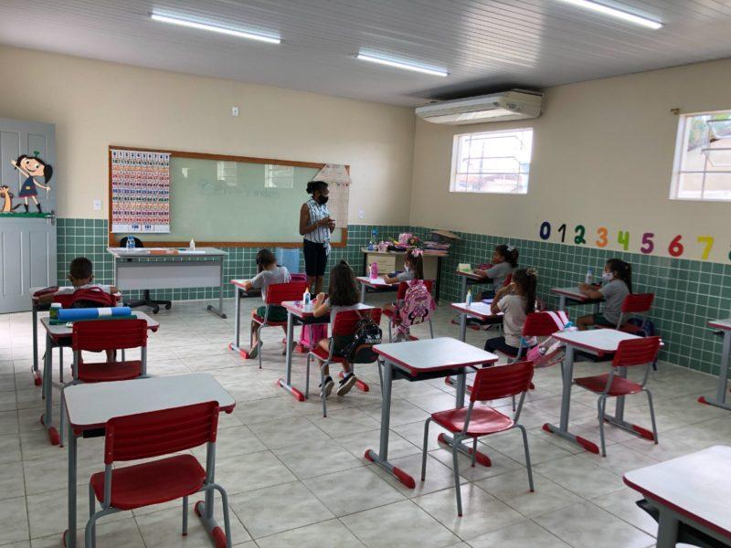 Diagnóstico dos níveis de aprendizagem dos alunos do ensino fundamental – Foto: Prefeitura de Gaspar/Divulgação