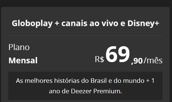 Planos GloboPlay - Foto: Divulgação/33Giga/ND