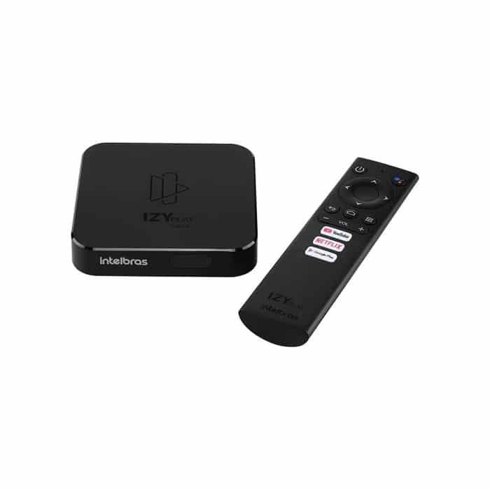 Smart Box Izy Play, o aparelho de streaming da Intelbras. Preço sugerido: R$ 399,90 - Crédito: Divulgação/Intelbras/33Giga/ND