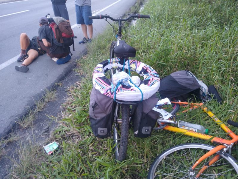 Acidente ocorreu no quilômetro 17 da rodovia – Foto: PMRv/Divulgação/ND