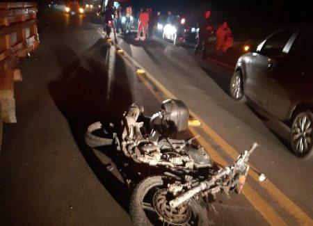 Motociclista de 43 anos morre após acidente com caminhão na SC-108 – Foto: Reprodução/ND