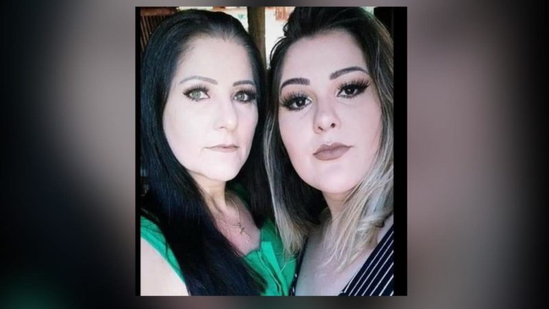 Salete Ferreira Maia de 45 anos e Jéssica Ferreira Vargas de 23 anos morreu no local – Foto: Reprodução/ND