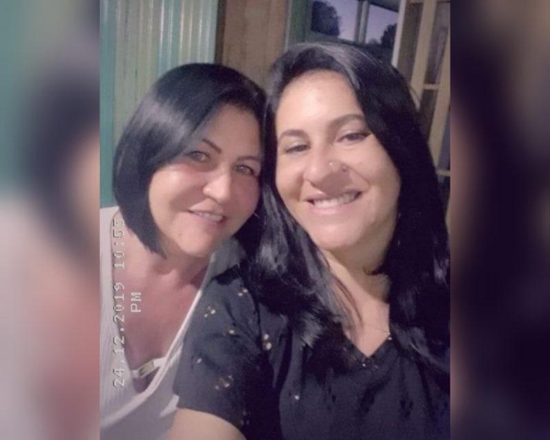 Nadir e Ana Paula Sales procuram por jovem de 30 anos (filha e irmã) que desapareceu depois do nascimento em Xanxerê – Foto: Arquivo pessoal/Divulgação/ND