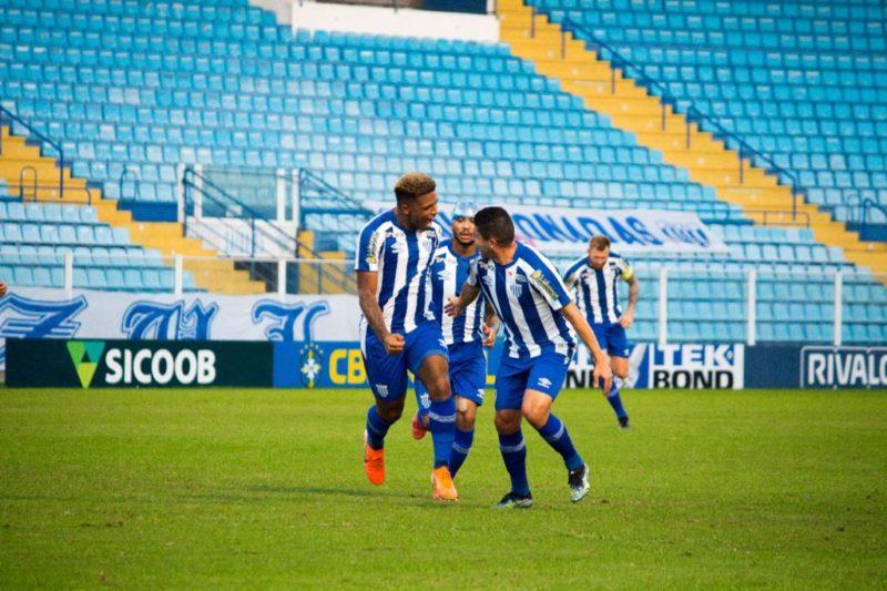 No jogo do turno deu Avaí: 1 a 0 com gol polêmico de Jonathan – Foto: André Palma Ribeiro/AvaíFC/Nd