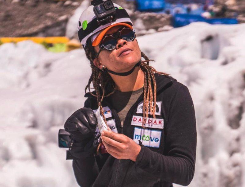Aretha Duarte no Monte Everest – Foto: Reprodução/ Instagram