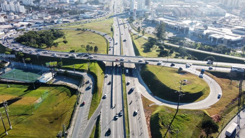 Apenas duas balanças de pesagem de veículos estão ativas em Santa Catarina – Foto: Arteris Litoral Sul/Divulgação/ND