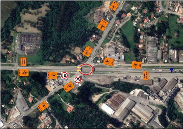 Trânsito será modificado, em Mafra, no final de semana