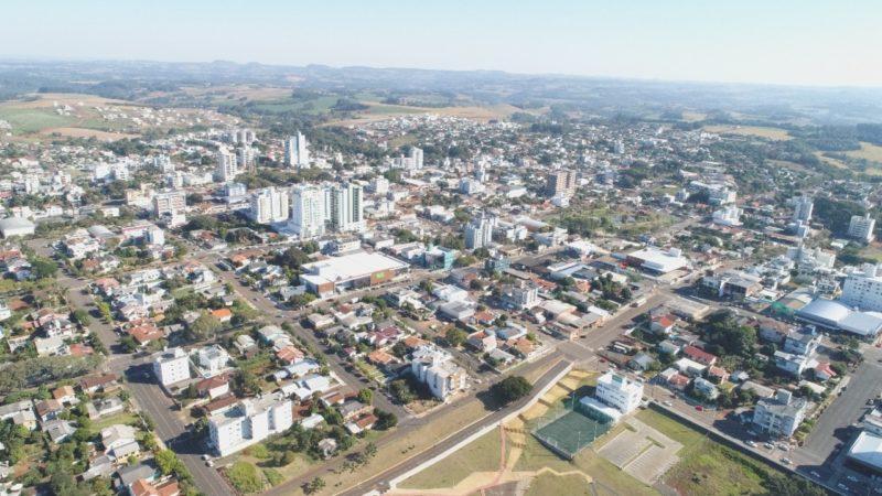 Município de Pinhalzinho, no Oeste de Santa Catarina – Foto: Ascom Pinhalzinho/Divulgação/ND
