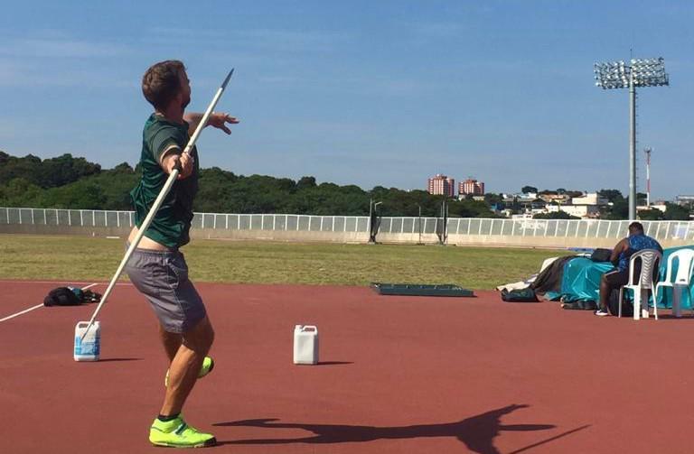 Atleta tentará pela vaga na competição durante seletiva em São Paulo – Foto: Prefeitura de Joinville/Divulgação
