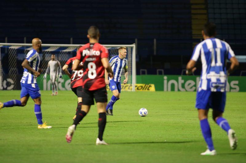 Avaí e Athletico ficaram no 1 a 1 – Foto: Frederico Tadeu/Avaí F.C
