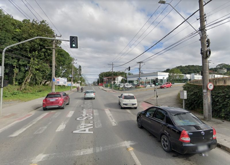 Avenida Santos Dumont passará por alterações no trânsito – Foto: Google Maps/Reprodução