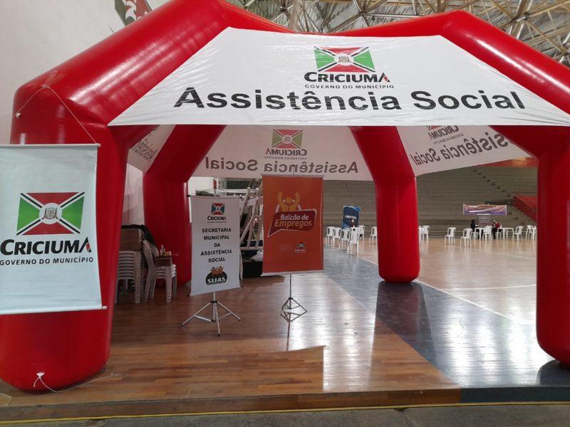 De 500 inscritos, apenas 43 pessoas compareceram na fase de entrevista do Balcão de Empregos de Criciúma – Foto: Divulgação/Decom/ND