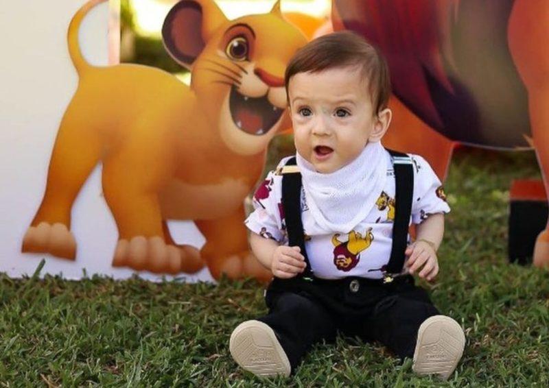 Entre as mortes de crianças pela doença está Leonardo Schwambach, de 1 ano e 4 meses, de Chapecó – Foto: Instagram/Reprodução/ND