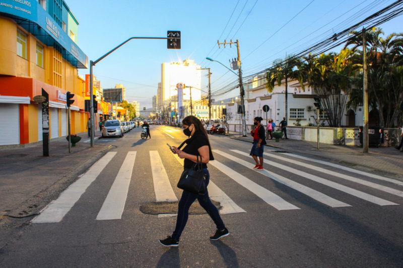 Este é o quarto binário criado pela prefeitura para melhorar o trânsito de Itajaí – Foto: Marcos Porto/Prefeitura de Itajaí/Divulgação