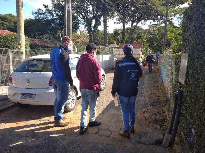 Denúncias de imóveis com esgoto irregular são investigadas no Norte e Sul da Ilha – Foto: Djone Joench/Floripa Se Liga Na Rede/Divulgação/ND