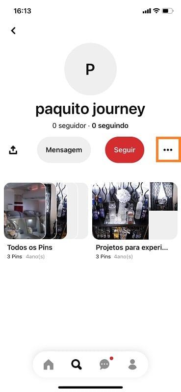 Passo 1 - Crédito: Reprodução/Pinterest/33Giga/ND
