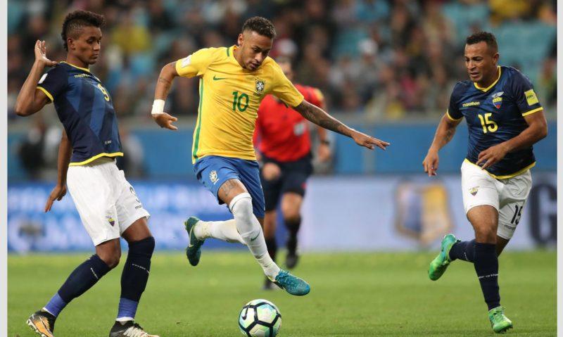 Seleção Brasileira terá três desfalques para enfrentar o Equador nesta sexta-feira – Foto: Lucas Figueiredo/CBF/ND