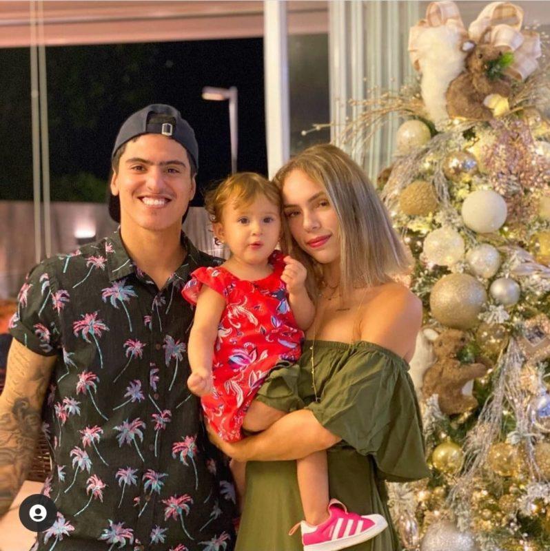 Bruna e Felipe têm uma filha juntos – Foto: Reprodução Instagram