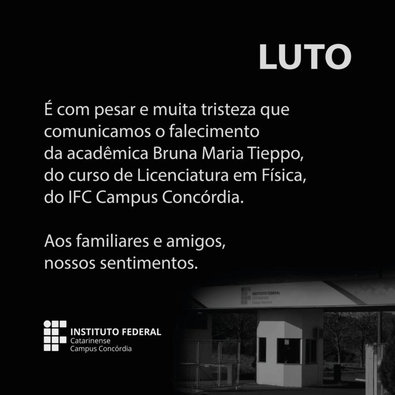 Instituto Federal prestou homenagem a jovem acadêmica – Foto: Instituto Federal/Divulgação/ND