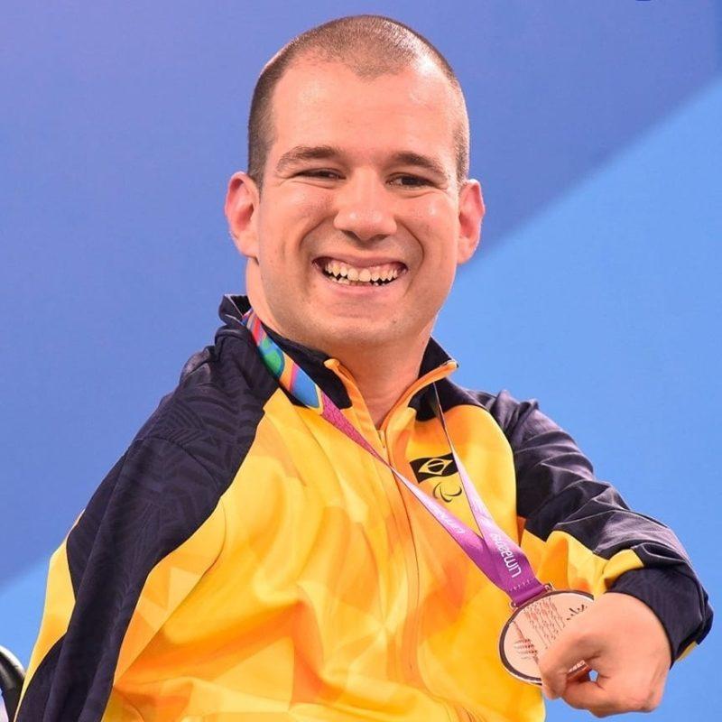 Bruno Becker é o primeiro paratleta da história da cidade a disputar os Jogos Paralímpicos. – Foto: Arquivo Pessoal/Bruno Becker/ND
