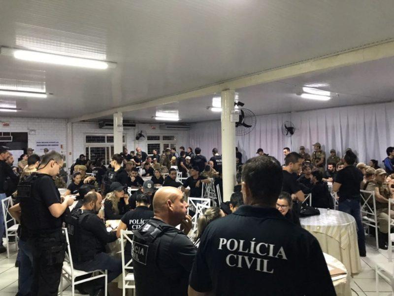 Os 20 réus condenados foram alvo da 'Operação Prato Frio' deflagrada pela Polícia Civil em 2018 no extremo Sul do Estado – Foto: Polícia Civil/Divulgação/ND