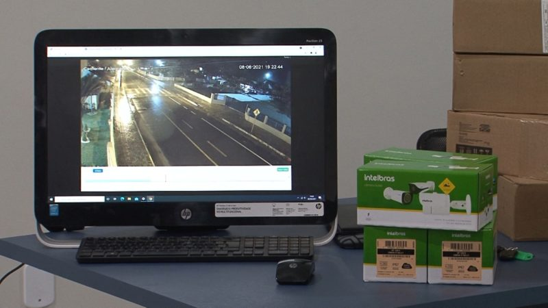 Previsão é que câmeras sejam instaladas em vários pontos da cidade – Foto: Juliano Masselai/Divulgação