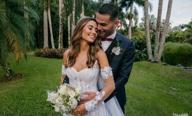 Isadora Pompeo e Thiago Maia se casaram em fevereiro de 2021 – Foto: Reprodução/ND