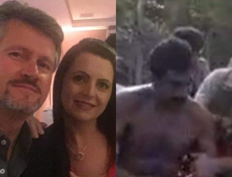 Caminhoneiro é acusado de homicídio de Sandra Pereira e tentativa de homicídio de Anderson Pereira – Foto: Reprodução/ND