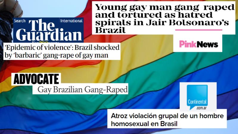 Estupro coletivo de rapaz em Florianópolis vai parar em jornais internacionais