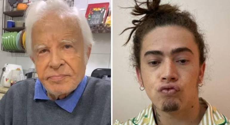 Cid Moreira se comoveu com a perda do filho de Whindersson Nunes – Foto: Reprodução Instagram