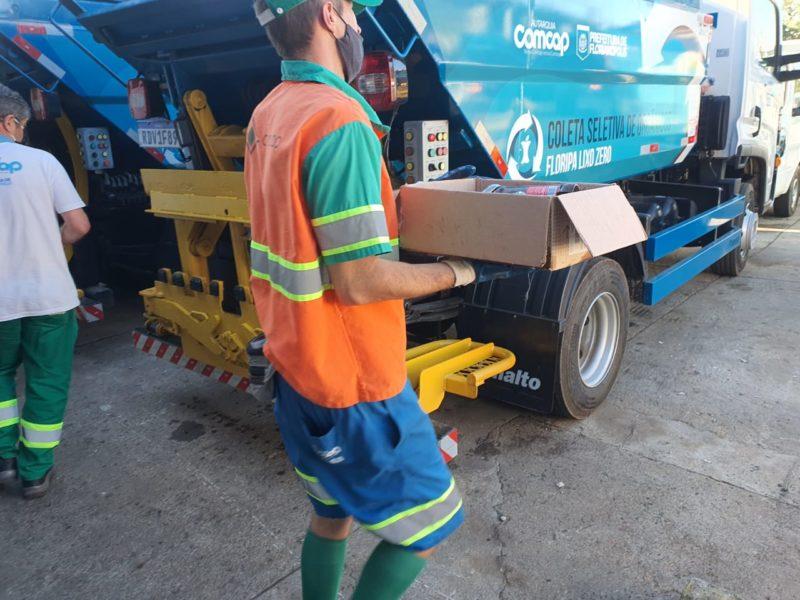 Florianópolis dá mais um passo nesta Semana Municipal do Meio Ambiente para cumprir as metas lixo zero – Foto: PMF/Divulgação/ND