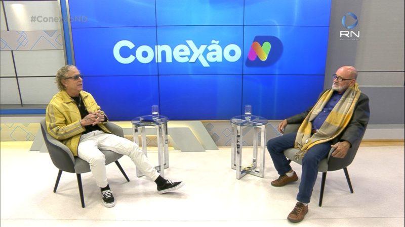 Cacau Menezes recebe o empresário para um bate-papo nesta edição – Foto: Reprodução/NDTV