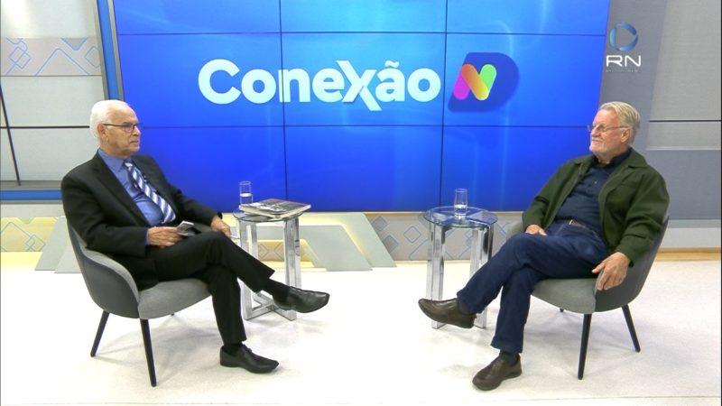 Moacir Pereira comanda o Conexão ND desta segunda – Foto: Reprodução/NDTV