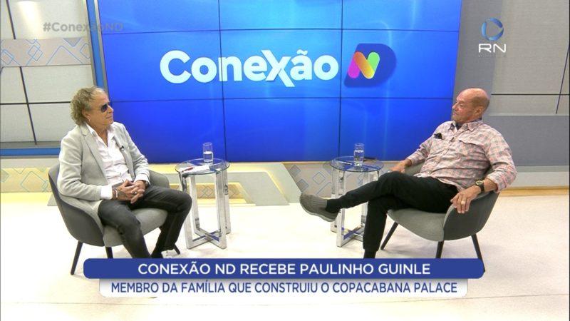 Conexão ND recebe Paulinho Ginle – Foto: Reprodução/Record News