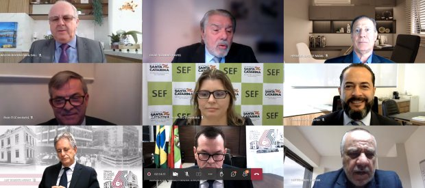 Contas estaduais de 2020 foram apreciadas em sessão virtual do TCE – Foto: Divulgação/ND