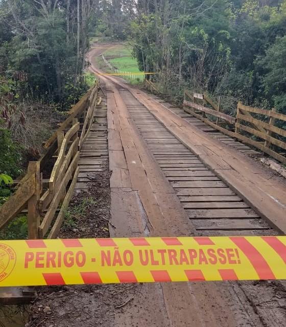 Ponte de Itapiranga interditada