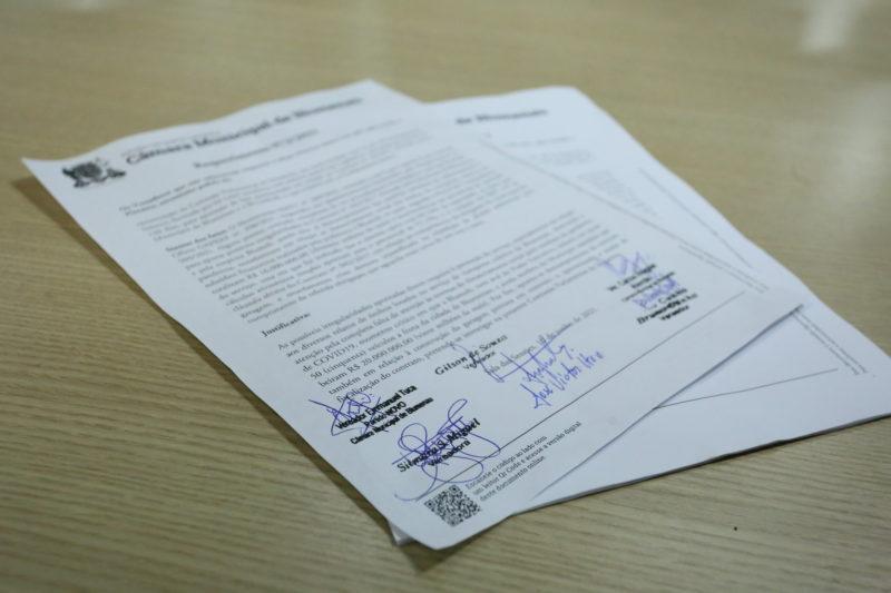 CPI do transporte coletivo é aprovada por vereadores de Blumenau – Foto: Denner Ovidio/CMB/ND