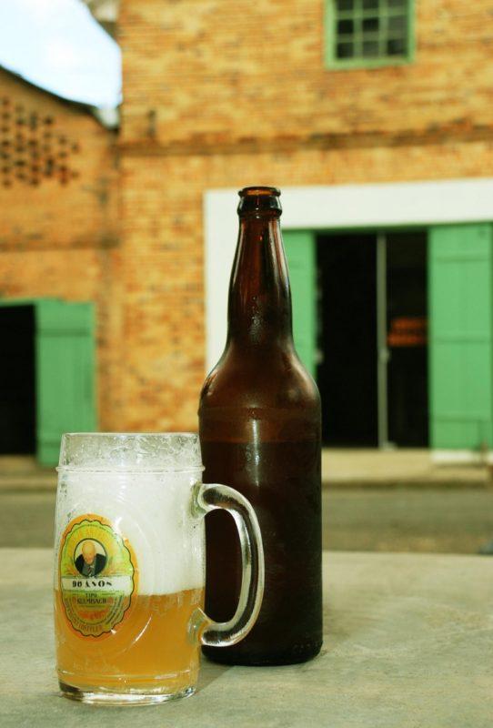 A cerveja é produzida no local – Foto: Prefeitura Canoinhas