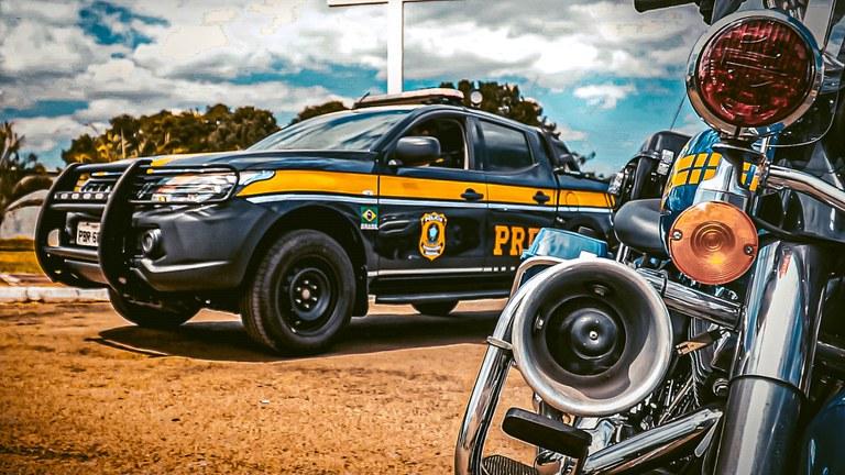 Motoristas e motociclistas receberão treinamento sobre direção segura com técnicas usadas pela PRF – Foto: Divulgação/ PRF