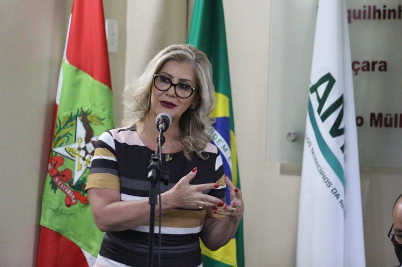A reitora Luciane Ceretta lidera a única chapa na eleição e deverá ser reeleita nesta quinta-feira (10) – Foto: Divulgação/Unesc