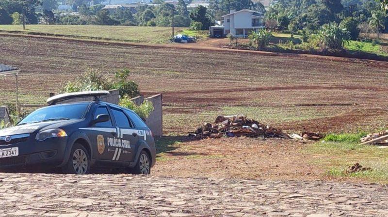 Polícia Civil ouviu pela segunda vez o suspeito pela morte de Mauricéia, moradora de Descanso – Foto: Marcos Lewe/Rádio 103 FM/Divulgação/ND/ND
