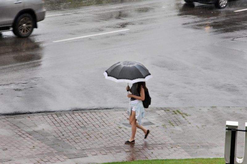 Nas últimas 12 horas choveu média de 27 mm em Santa Catarina – Foto: Divulgação/PMB/ND