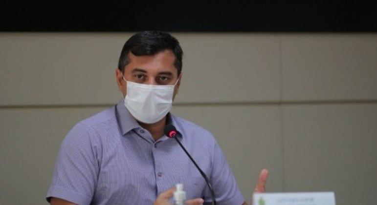 Governador do Amazonas, Wilson Lima (PSC), não compareceu para o depoimento na CPI da Covid nesta quinta (10) – Foto: Divulgação/ Secom AM