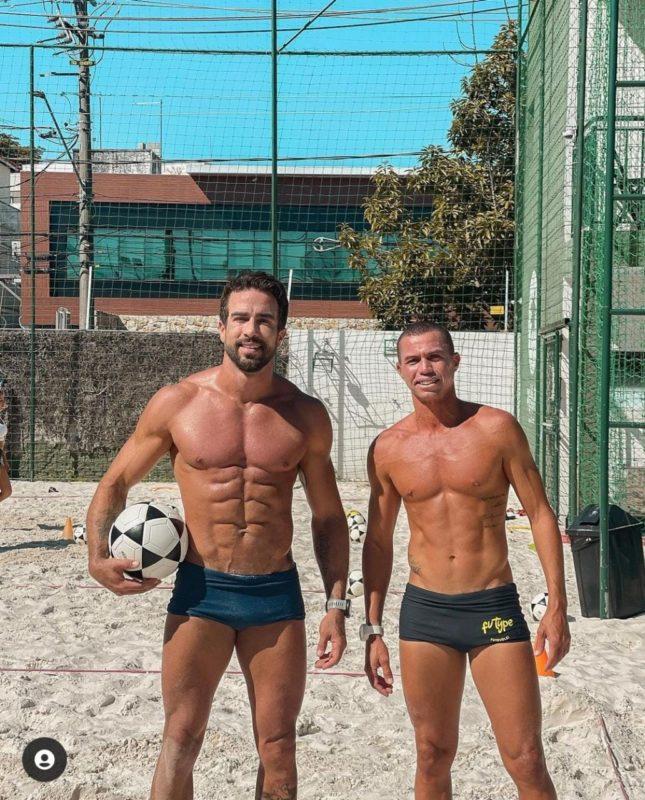 Ex de Pugliesi exibe corpão em praia – Foto: Reprodução Instagram/ND
