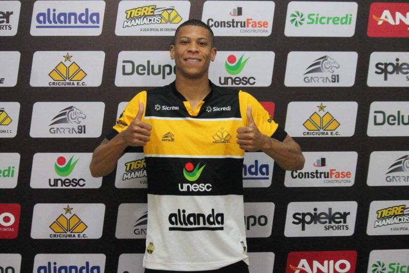 Hygor atuou nas últimas duas temporadas pelo Ferroviária – Foto: Celso da Luz/CriciúmaEC/ND