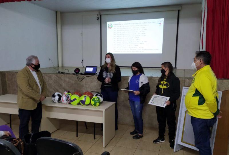 Escola Professor Lourdes Angela Sarturi Lago venceu uma competição virtual entre escolas de todo o Brasil – Foto: Secretaria de Educação/Divulgação/ND
