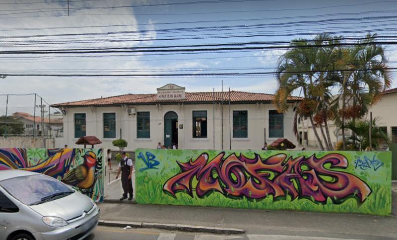 Escola em Palhoça teve fios furtados pela sexta vez em menos de um mês – Foto: Reprodução/Google