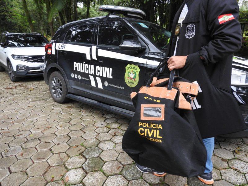 Prisão ocorreu na manhã desta quinta-feira (10) no bairro Pirabeiraba – Foto: Polícia Civil/Divulgação